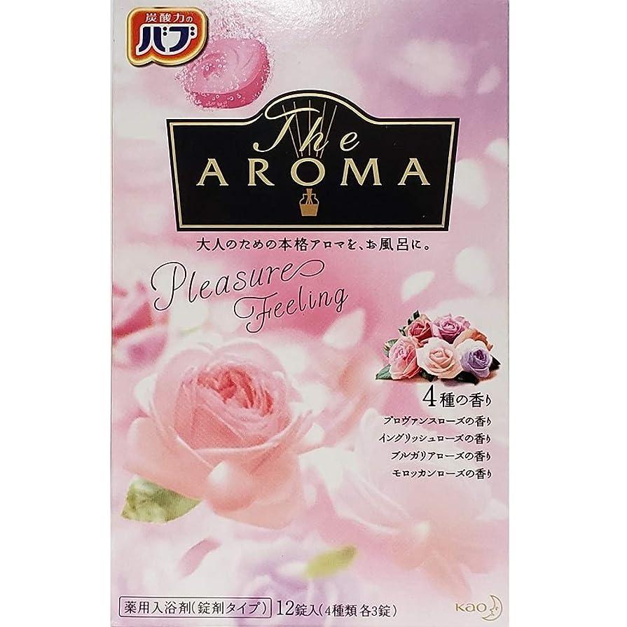上げるアラスカ使役バブ The Aroma Pleasure Feeling 40g×12錠(4種類 各3錠) 医薬部外品