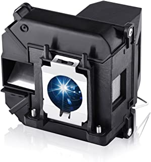 EWO'S Projector Lamp Bulb for Elplp60/v13h010l60 Epson PowerLite 420 425W 905 92 93 95 96W 1835 430 435W 915W D6150 v13h01...