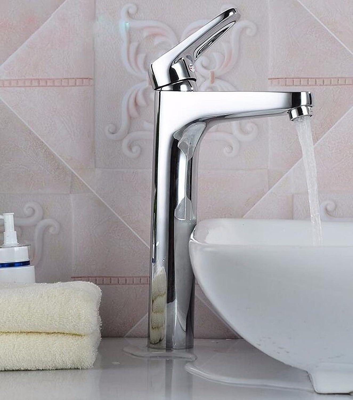 LHbox Bad Armatur in Bad für Waschbecken Waschtisch Wasserhahn Waschtischarmatur Waschbecken Wasserhahn Einloch Mischen von heiem und kaltem Wasser Waschbecken Wasserhahn