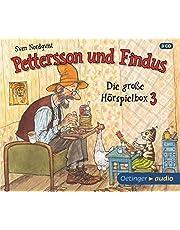 Pettersson und Findus - Die große Hörspielbox 3 (3 CD): Hörspiele, ca. 92 Min.