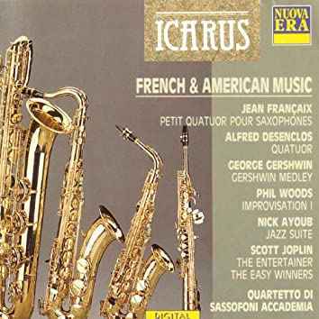 French & American Music: Françaix, Desenclos, Gershwin, Woods, Ayoub, Joplin