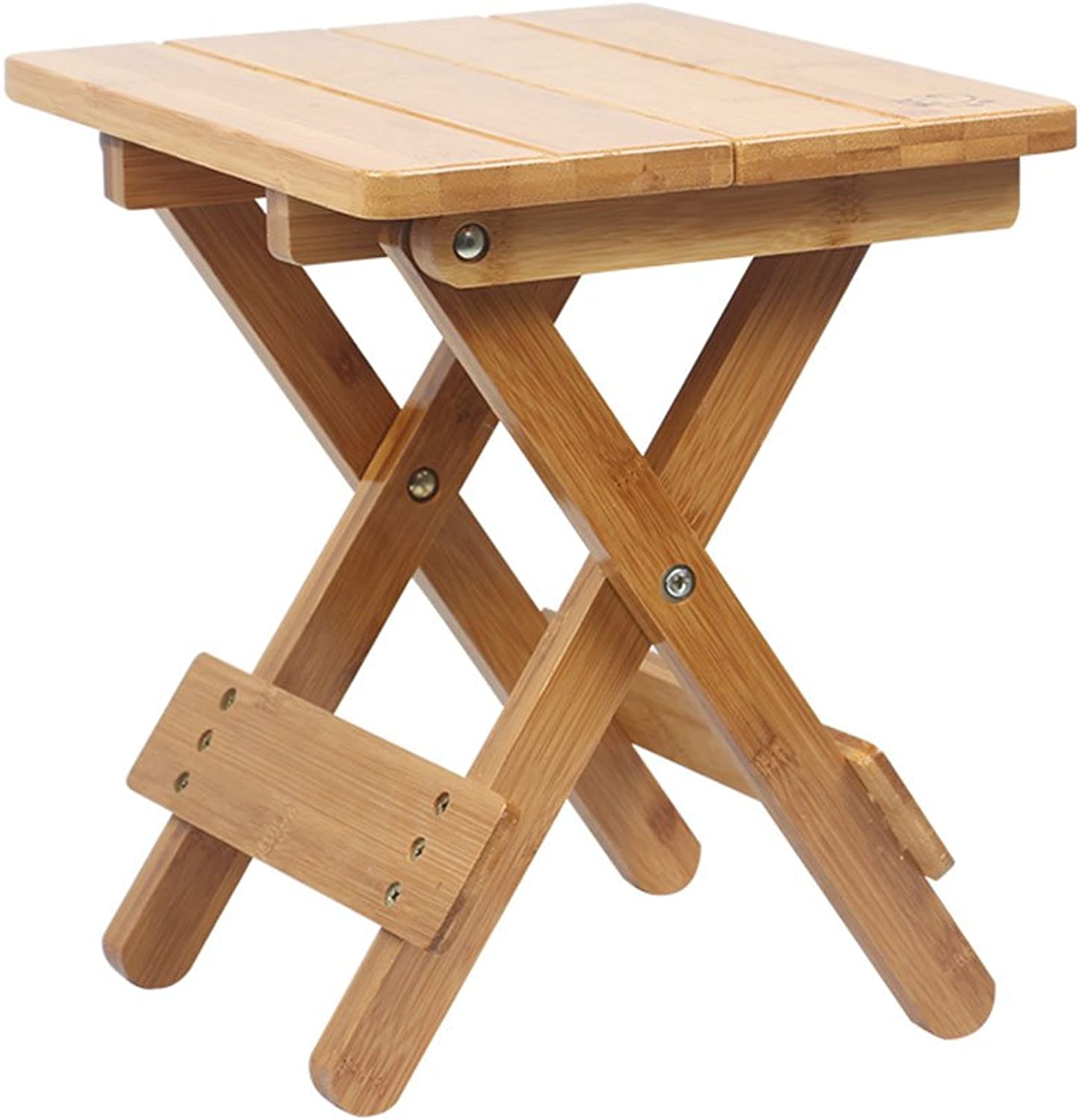 QIDI Stool Solid Wood Hall Household Indoor Fold Two Styles (color   Style 2)