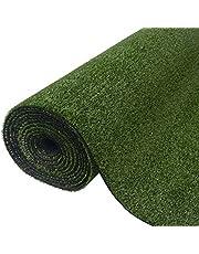 vidaXL Césped Artificial Verde Varias medidas/7-9 mm