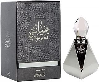 KivaloⓇ Hayati Haramain Pure Original Fragrance Perfume Oil (Attar) with Musk, Amber - 12 ml