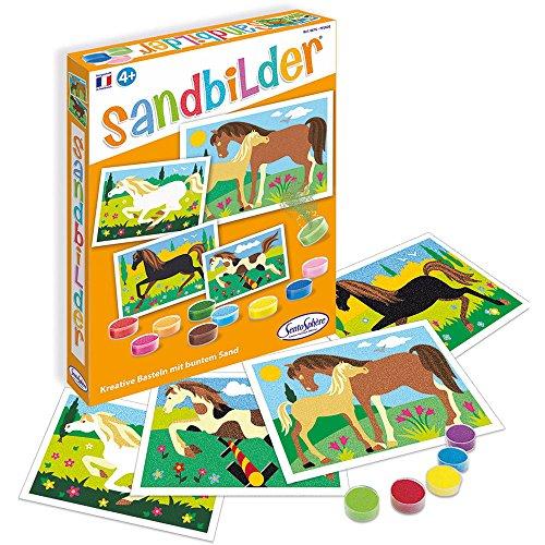 Sentosphere Sandbilder Pferde (d)