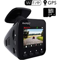 AKASO 1296P FHD Dash Cam Dashboard Recording Camera