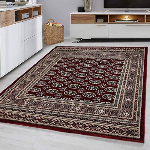 Flycarpets Pola Klassisch Rot Teppich AFGAN | 230 x 160 cm |