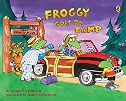 Froggy goes to summer camp book