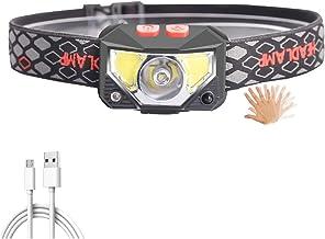 Koplamp Ingebouwde Batterij Led koplamp COB Werk Licht Waterdichte Koplamp pak voor Vissen Hoofd Zaklamp Lamp Torch