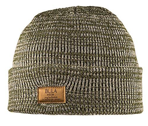 Bula Mütze Marled Beanie, Unisex, Army