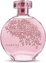 Floratta Rose Eau de Toilette by O Boticario   Long Lasting Perfume   Fresh Smelling Floral Perfumes for Women (2.5 fl oz)