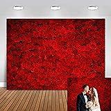 Avezano Fotohintergrund für Hochzeitsliebhaber, Geburtstagsfoto, Fotoshooting, persönliches Portraitfoto (2,1 x 1,5 m)