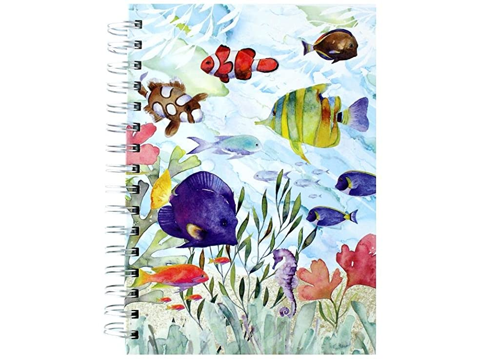 Punch Studio Journal Spiral Oceana