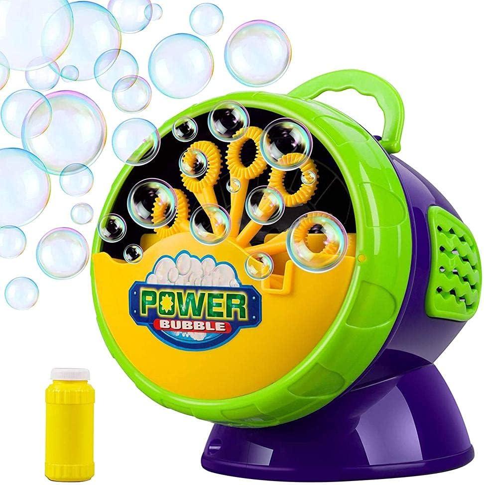 Lewpox Soap Bubble Dallas Mall Machine 70% OFF Outlet for wi Kids Automatic