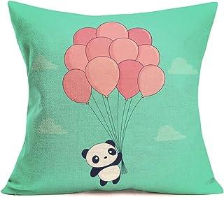 Fukeen Panda Pillow Covers for Home Sofa Kids Room Decorative Cute Cartoon Animal with..