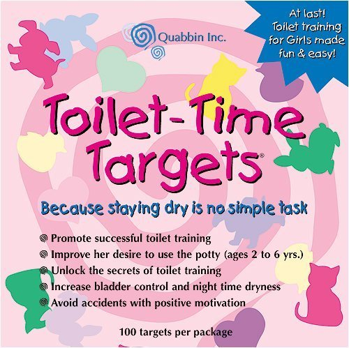 Toilet Time Targets for Girls