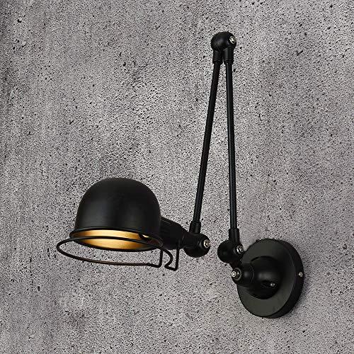 Loft Vintage industrie Jielde lange arm verstelbare wandlamp Reminisce Retractable E14 LED wandlampen voor slaapkamer woonkamer