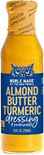 Noble Made by The New Primal Almond Butter Turmeric Dressing & Marinade, Whole30 & Paleo Approved, Gluten, ...