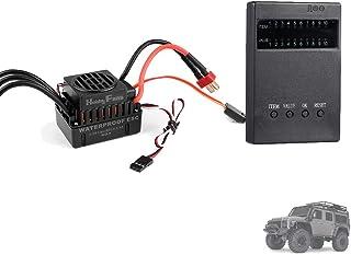Sunydog HOBBYFANS 60A Brushless ESC och programmeringskort för programmering HOBBYFANS OCDAY Brushless ESC 1/10 Offroad RC...