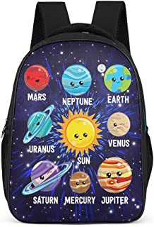 Planet des Sonnensystem Fashion - Bolso bandolera para niña - Planet otoño invierno 2019 Mochila Daypack para adolescentes