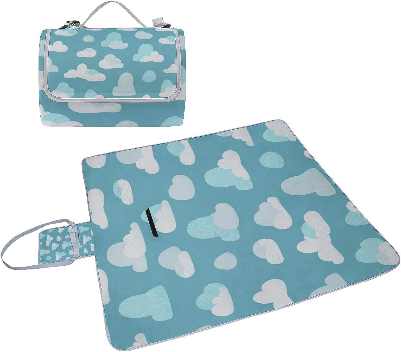 30f83d01fcc1 Velvet Cloth Picnic Blanket for Kids Expensive Design Style Art Beach Mat  NonSlip Foldable with Handle