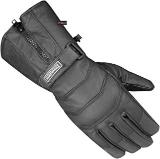 Cool Cafe Racer Premium Leather Motorcycle Gloves Half Gauntlet with Mobile Touchscreen Comfortable Riding Protection XX-Large Camel