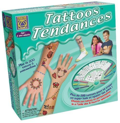 La boîte de jeu de tatouage pour enfants