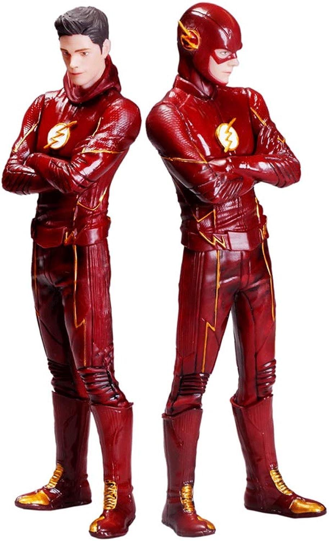 Envío y cambio gratis. Wen Zhe Los Accesorios de Oficina de de de American Movie Comic Series Flashman Model Hand Pueden encenderse Modelo de Juego  wholesape barato