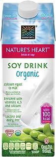Nature's Heart Bebida Orgánica de Soya, 946 ml