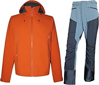fit space Performance Rain Shell Jacket Waterproof Breathable 15K/10K for Daily,Hiking,Skiing,Mountaineering