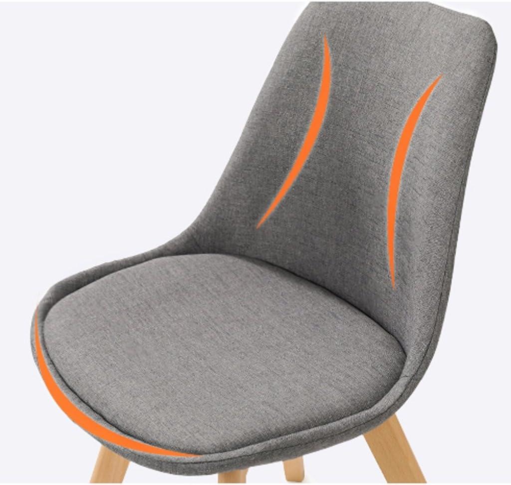 XXT-Chaise de Bureau en Bois Massif Dossier Chaise de Bureau Adulte Durable (Color : E) B