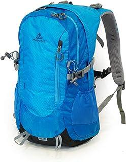 Mapuera Aero - Mochila ligera con ventilación en la espalda/mochila de día con funda para lluvia, 19 l, adecuada como mochila para ciclismo, senderismo, correr y excursiones de un día