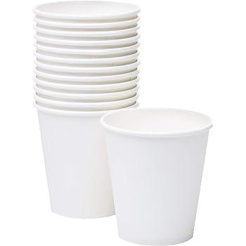 Coffee cup 8 oz 240 ml white