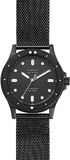 Skagen Fisk Women's Black Dial Stainless Steel Analog Watch - SKW2917