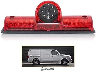 Waterproof Night Vision T3rd Brake Light Reversing Camera for Nissan NV 1500 2500 3500 NV Cargo Van(2012-2019) Transporter