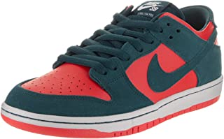 Nike SB Zoom Dunk Low PRO Mens Skateboarding-Shoes 854866-336_13 - Nightshade/Nightshade-Chile RED