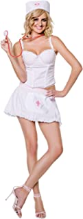Candy Striper Women's Costume- Large 12-14
