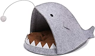 ZRL77y Lantern Fish Cat Nest Removable and Washable Pet Sleeping Bag Four Seasons Hammock Cat House Pet Cat and Dog Suppli...