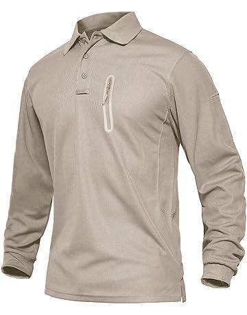 da golf bianco 3XL 2XL Hann Brooks grigio verde marrone M colore: nero bordeaux blu navy XL 4XL S Polo da uomo in morbido cotone da sci con scollo a rotolo L