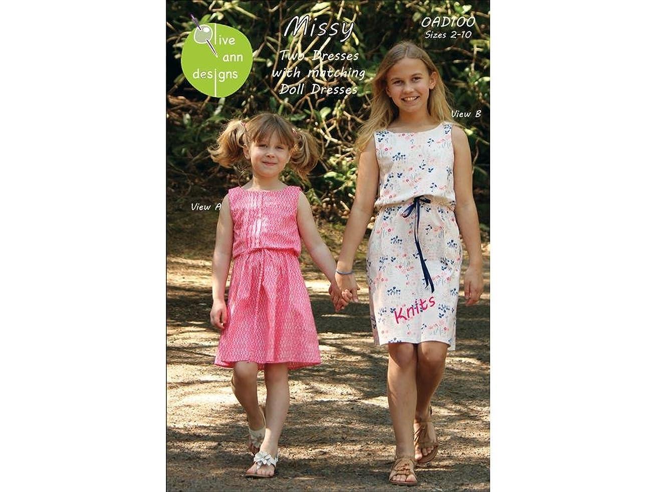 Olive Ann Designs Olive Ann Missy Size 2-10 Dress Pattern