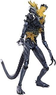 Hiya Toys Aliens: Headshot Alien Warrior 1:18 Scale Action Figure, Multicolor