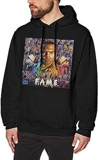 Chris Brown F.A.M.E. Men`s Hoodie Sweatshirt Jacket Leisure Hoodies Sweater Hooded No Pockets