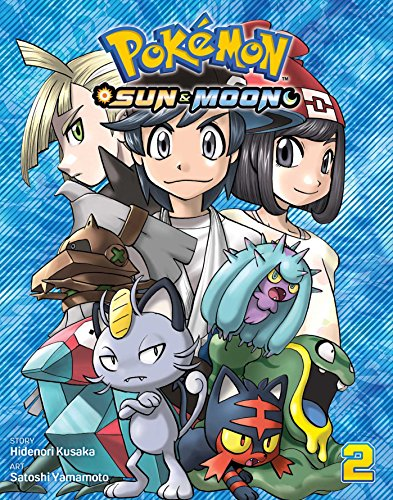 Pokemon Sun & Moon, Vol. 2