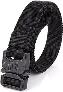 NiceShop16 Tactical Belt 1 inch Wide Skinny Military Heavy Duty Webbing Nylon Belt
