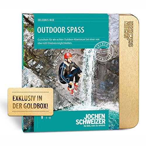 Jochen Schweizer Erlebnis-Box 'Outdoor Spaß', mehr als 580 Erlebnisse für 1-2 Personen, Abenteuer-Geschenk, Weihnachten