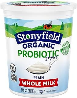 low fat yogurt by Stonyfield Organic