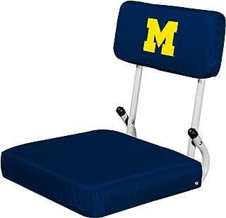 Logo Brands NCAA Mens Womens Hardback Stadium Seat
