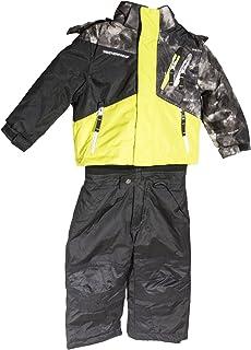 Weatherproof 2ピースジャケットwith Coordinating Bib Pantライム/ブラック