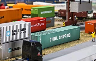 FA 180844 - 12 Containers China Shipping, Accessories for Model Railway, Model Making