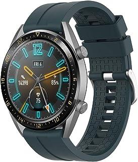Supore Rem kompatibel med Huawei Watch GT2 46 mm/klocka GT 46 mm/klocka GT Active/Watch 2 Pro/Honor Watch Magic/Galaxy Wat...
